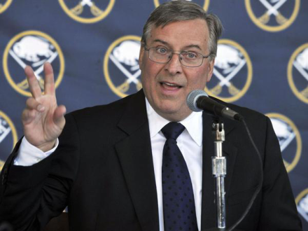 Terry Pegula owns not one, but two Buffalo sports franchises.